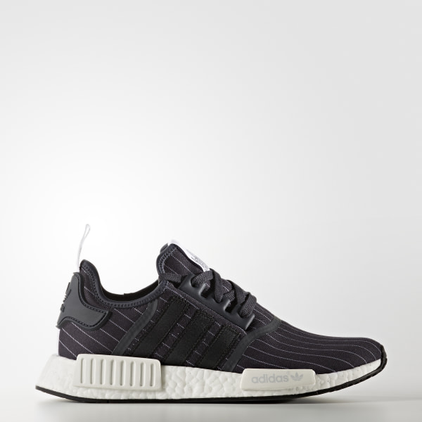 Tenis Nmd R1 Bedwin NIGHT GREY CORE BLACK  WHITE BB3124 54521bfcd98a7