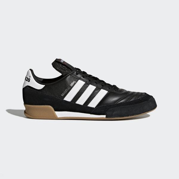 buy popular 027f2 0ccdd botas de fútbol Mundial Goal Core Black Core White 019310
