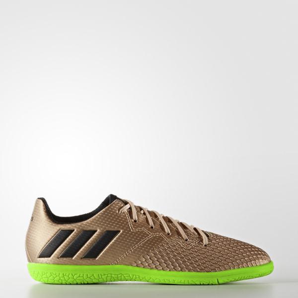 Chimpún Messi 16.3 Indoor COPPER MET. CORE BLACK SOLAR GREEN BA9855 86fdaeccb931c