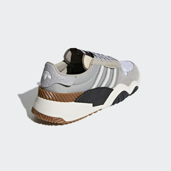 410fe15deed8 adidas Originals by Alexander Wang Turnout Trainer Shoes Light Grey  Chalk  White Core Black