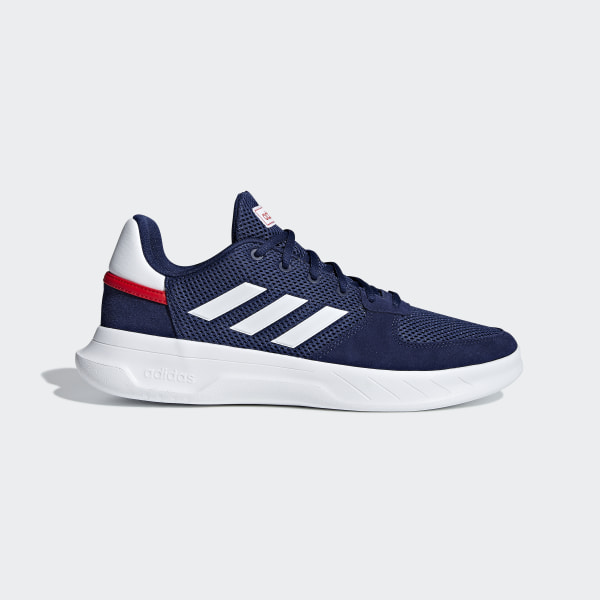 c7a67f6a776 Tenis FUSION FLOW dark blue   ftwr white   active red F36232