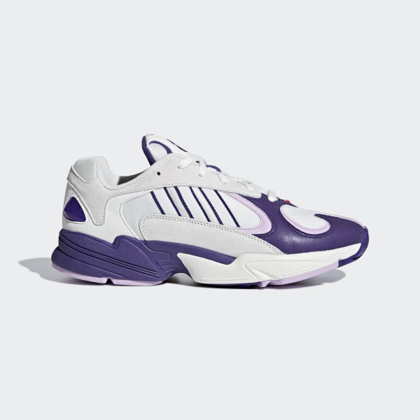 8fd447ea98f Dragonball Z YUNG-1 Shoes Running White   Purple   Clear Lilac D97048