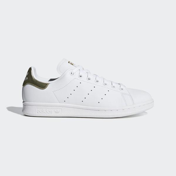 wholesale dealer 85deb e003f Stan Smith Shoes Cloud White   Cloud White   Gold Metallic EE8836