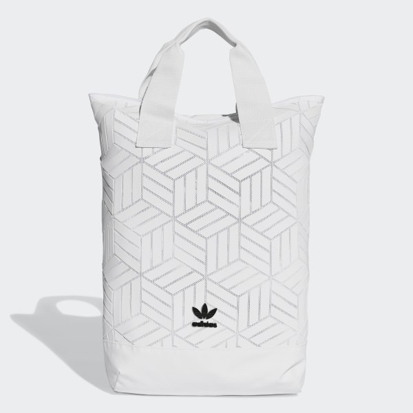 adidas 3D Backpack - White  d20703eff4950