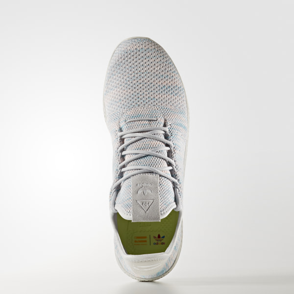 03cb28a86 Pharrell Williams Tennis Hu Shoes Noble Ink   Semi Frozen Yellow   Core Black  BY2671