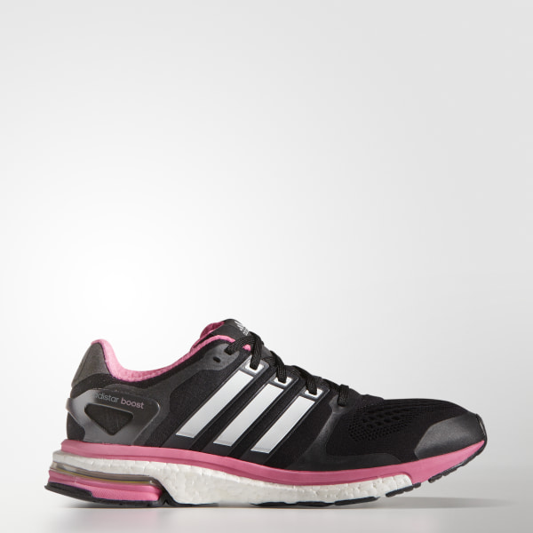 check out f29c1 17cd8 Zapatos para Correr adistar Boost ESM Mujer CORE BLACK ZERO SOLAR PINK  M18853
