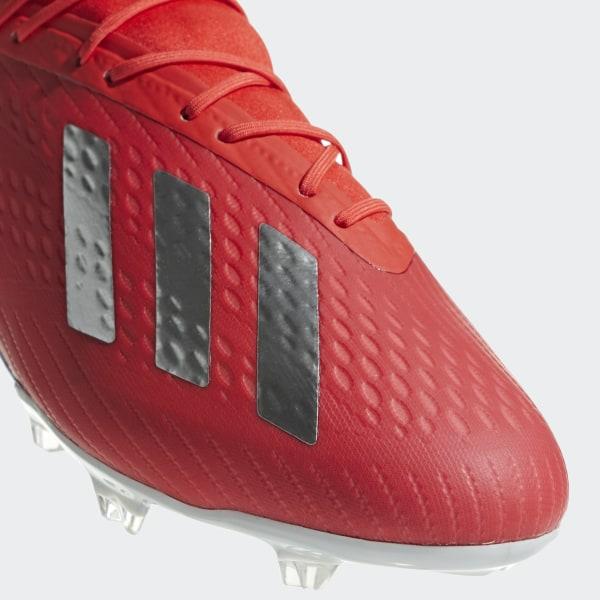 Scarpe da calcio X 18.2 Firm Ground Active Red   Silver Met.   Bold Blue c3deb9b56e3