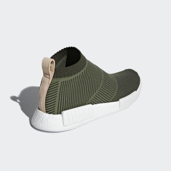 NMD CS1 Primeknit Shoes Night Cargo   Base Green   Ftwr White B37638 78ba00d78