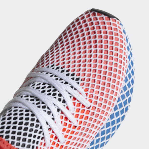 quality design 85cc2 55a38 Deerupt Runner Shoes Solar Red  Solar Red  Bluebird CQ2624