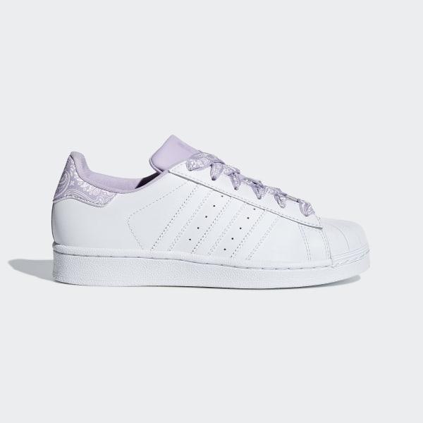 detailed look 5ed24 2b799 Superstar Schoenen Ftwr White   Ftwr White   Purple Glow CM8599