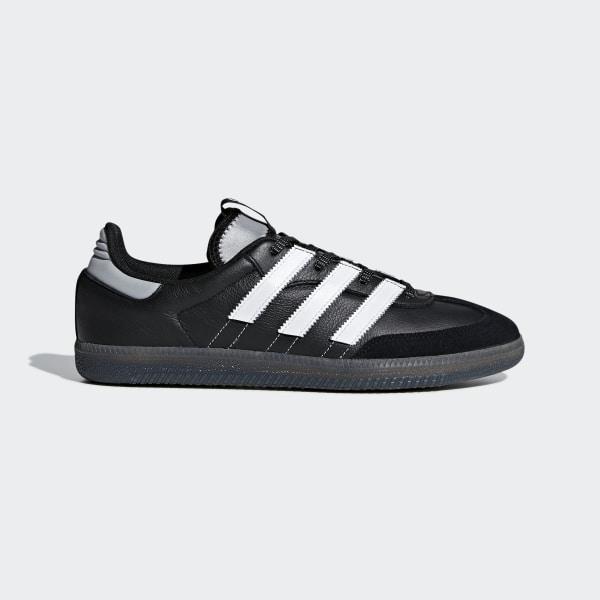 separation shoes 54a0c a4ca9 Samba OG MS Shoes Core Black   Cloud White   Silver Metallic BD7523
