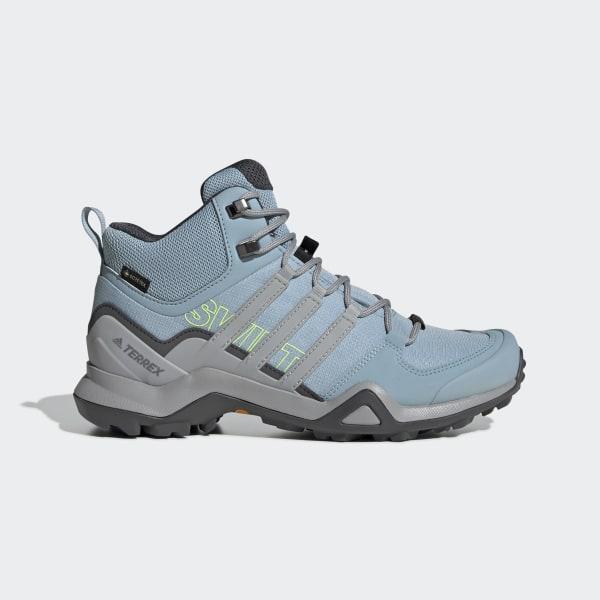 4bbd0dbda5f99 Terrex Swift R2 Mid GTX Shoes Ash Grey   Grey Two   Grey Six BC0401