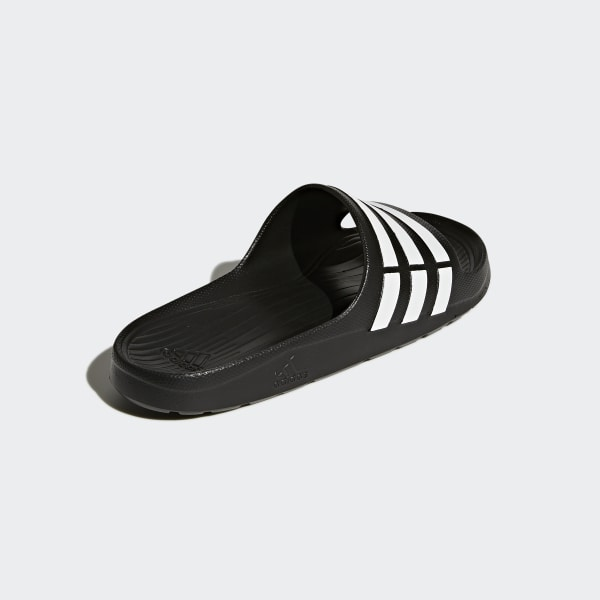 size 40 d577a ef6fe Duramo Slides Core Black  Cloud White  Core Black G15890