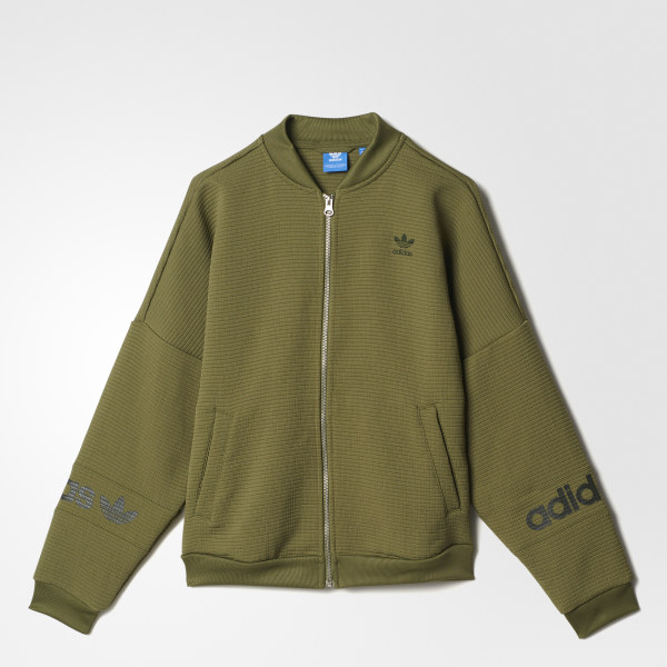 adidas Track Jacket - Green  e6b7acdb36