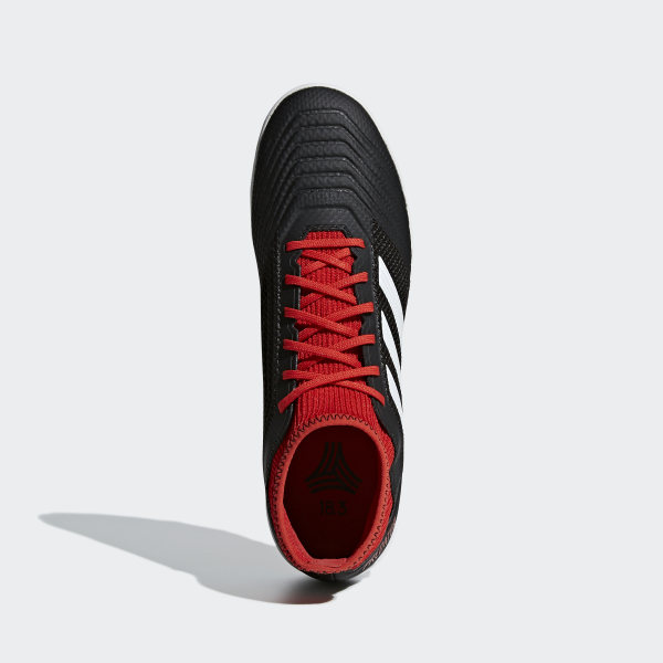 finest selection d42c0 ca563 Predator Tango 18.3 Turf Boots Core Black   Ftwr White   Solar Red DB2135