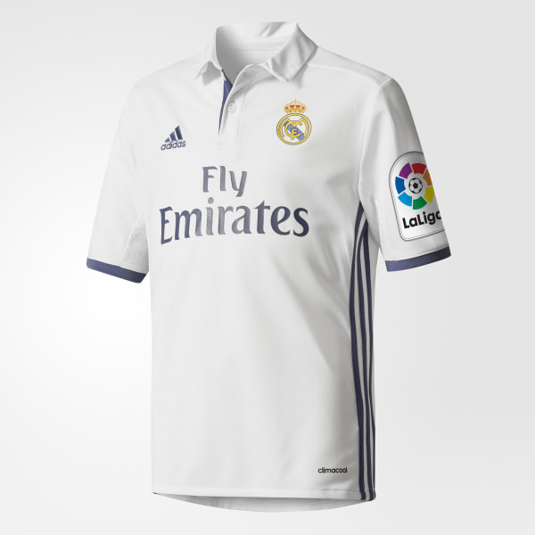 Camisa Real Madrid 1 CRYSTAL WHITE CRYSTAL WHITE  WHITE AI5189 384cec6ce3070
