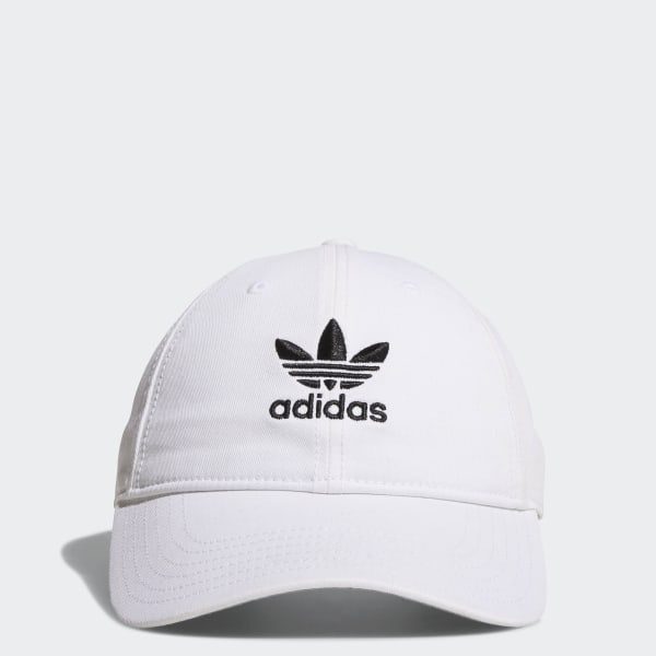 cc3c8e87867 Originals Relaxed Strap-Back Hat White   Black BH7135