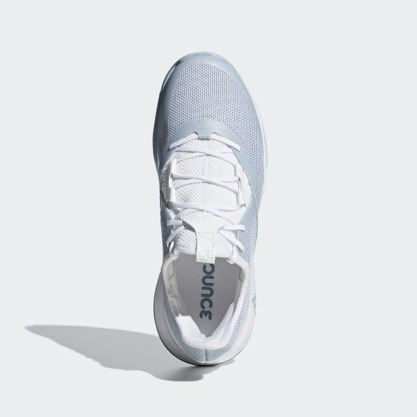 33701f94a adizero Defiant Bounce w Ftwr White   Ash Grey   Ftwr White CG6350