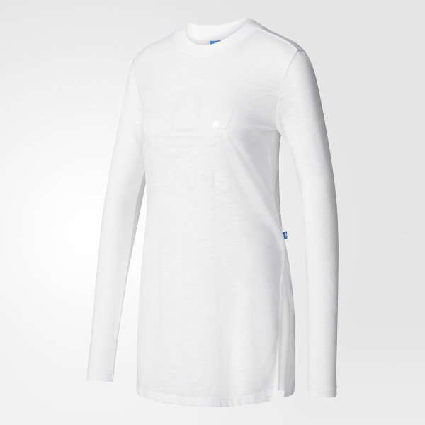 adidas Remera originals manga larga - Blanco  b570b16688ead