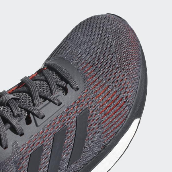 54a61f8ce99 Solar Drive ST Shoes Grey Five   Carbon   Hi-Res Red AQ0325