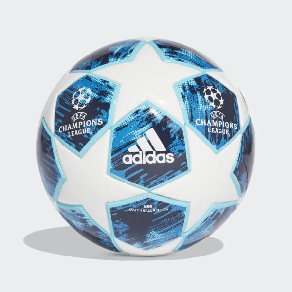 Mini balón (FOAM CORE) Finale 18 WHITE BLUE GLOW SHOCK BLUE  9807a95a9078f