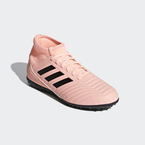 385814286e5 Predator Tango 18.3 Turf Shoes Clear Orange   Core Black   Trace Pink DB2331
