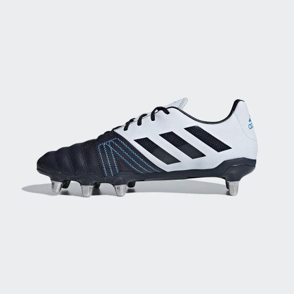 b0614e86f83e3 Scarpe da rugby Kakari Elite Soft Ground Aero Blue   Legend Ink   Shock Cyan  BB7980