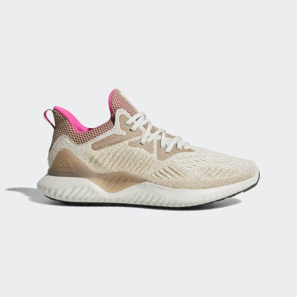 04dff8021ab065 Alphabounce Beyond Shoes Chalk Pearl   Shock Pink   Trace Khaki B76040