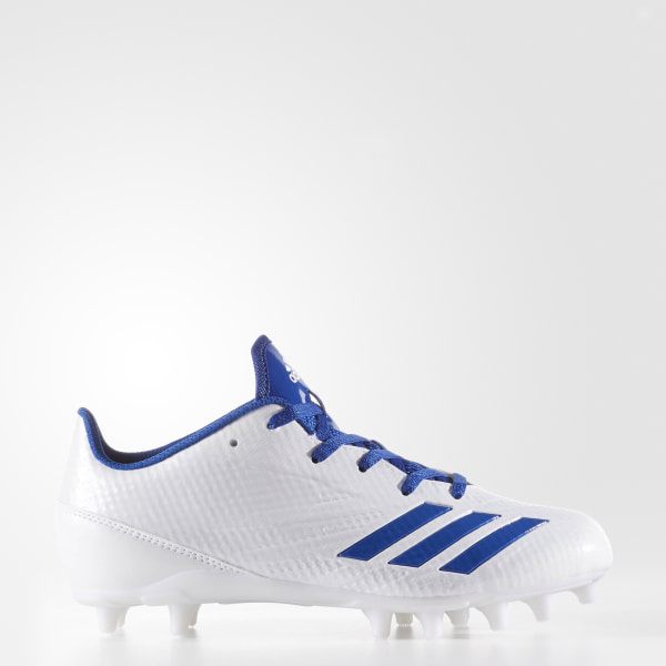 the latest c8830 22d30 adizero 5-Star 6.0 Cleats Cloud White  Collegiate Royal  Cloud White  BY4130