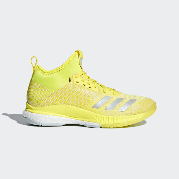 newest e9536 8ea06 Crazyflight X 2.0 Mid Shoes Shock Yellow   Ash Silver   Cloud White CP8897