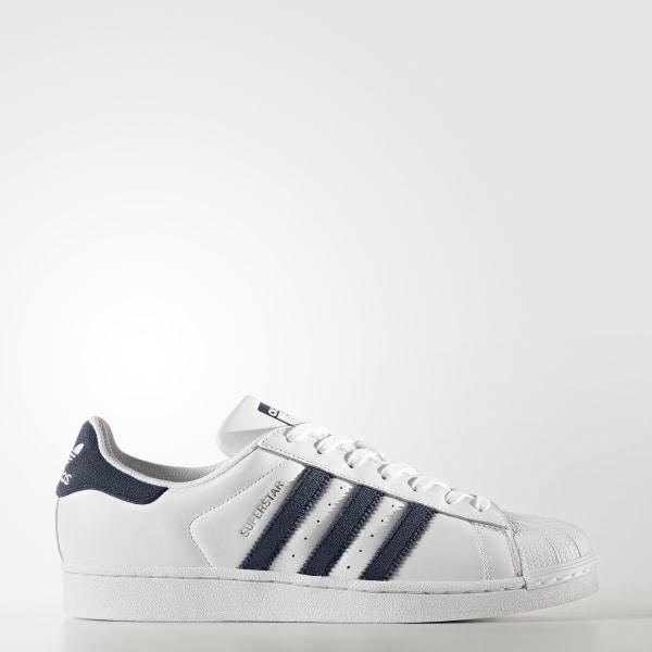 91741e29e adidas Men s Superstar Shoes - White