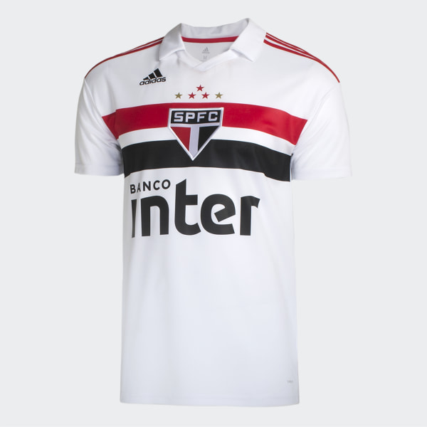 30ce82a973 CAMISA SAO PAULO I WHITE RED BLACK DZ5626