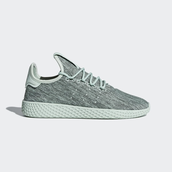 7b9984c2dc7 Pharrell Williams Tennis Hu Shoes Green   Green   Chalk White DB2859