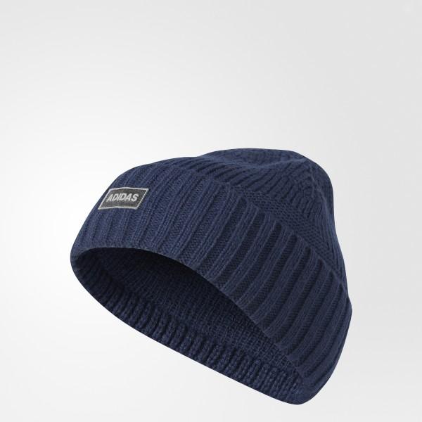 adidas Pine Knot Beanie - Blue  21b3fdaf617