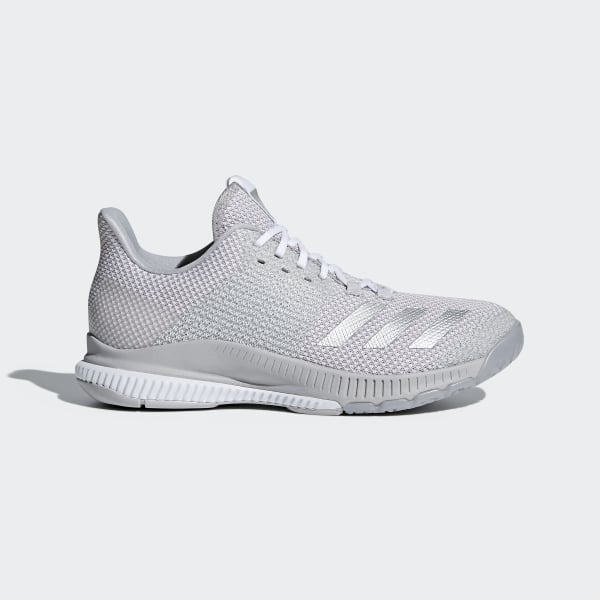 big sale 6492d 7170f Crazyflight Bounce 2.0 Shoes Cloud White  Silver Metallic  Grey CP8893