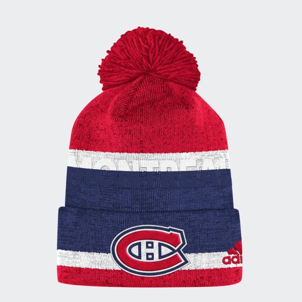 23dd7dcc7b adidas Canadiens Team Cuffed Pom Beanie - Multicolor | adidas US