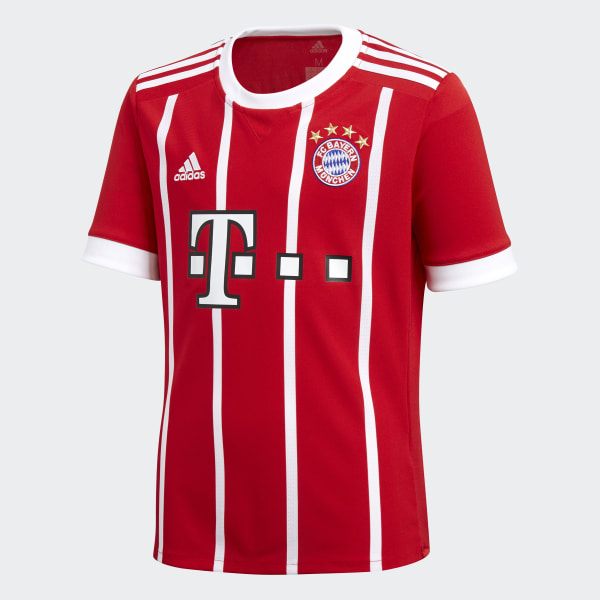 Jersey de Local FC Bayern Múnich FCB TRUE RED WHITE AZ7954 7a2fc442d5e