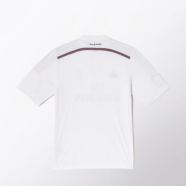 Camiseta Local de Fútbol Real Madrid WHITE BLACK BLAPINK F50637 bef776c83e81d