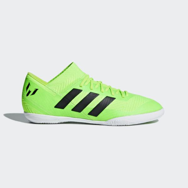 Chuteira Nemeziz Messi Tango 18.3 Futsal SOLAR GREEN CORE BLACK SOLAR GREEN  DB2392 2bd72903ffb38