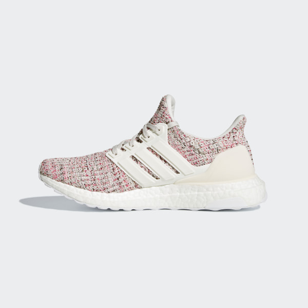 702cf797e33 Ultraboost Shoes Chalk Pearl   Running White   Shock Pink BB6496