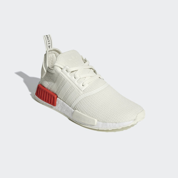 online store 7fcf8 fffe7 NMD R1 Shoes Off White   Off White   Lush Red B37619