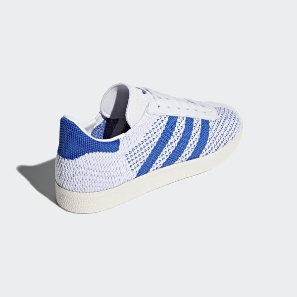 huge discount 737bd 07059 Gazelle Primeknit Shoes Hi-Res BlueChalk White CQ2790