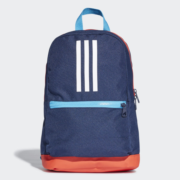 3-Stripes Backpack Collegiate Navy   Active Red   White DW4760 1cf33ba2ad368