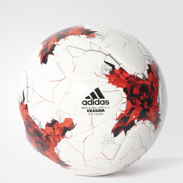 adidas FIFA Confederations Cup Top Glider Ball - White  e1b7e2204d