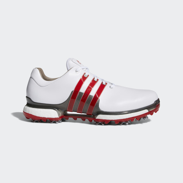 outlet store 5917e 0f60f Tour 360 Boost 2.0 Shoes Cloud White  Scarlet  Dark Silver Metallic F33625