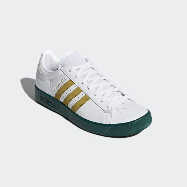 cb939df16700a7 Forest Hills Shoes Ftwr White   Gold Met.   Collegiate Green AQ0921