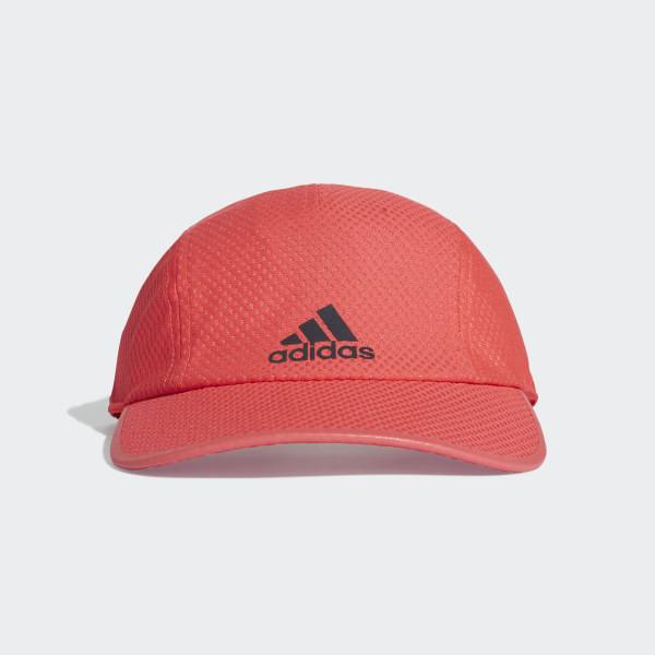 38985774db7 Climacool Running Cap Shock Red   Shock Red   Black Reflective DT7092