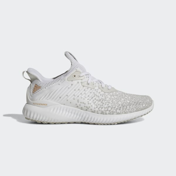7991e9b53a5e5 Alphabounce 1 Shoes Cloud White   Cloud White   Grey One DA9971