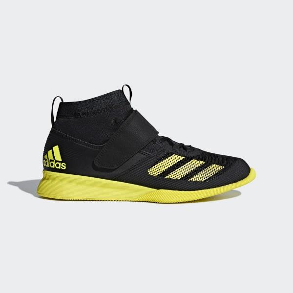 f8bc85dc9d4715 Crazy Power RK Shoes Core Black   Shock Yellow   Carbon AC7477