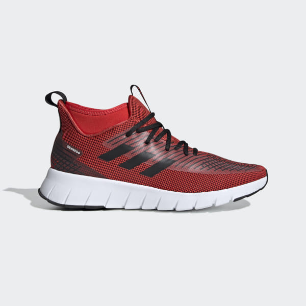 huge discount 4c2e7 b99c3 Asweego Mid Shoes active red  core black  ftwr white G27826